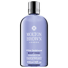 Buy Molton Brown White Sandalwood Body Wash, 300ml Online at johnlewis.com