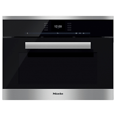 Image of Miele DGC6600XL PureLine Combination Steam Oven, Clean Steel
