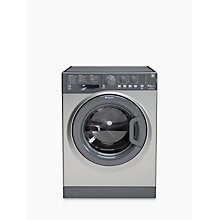 Buy Hotpoint WDAL8640G Washer Dryer, 8kg Wash/6kg Dry Load, A Energy Rating, 1400rpm Spin, Graphite Online at johnlewis.com