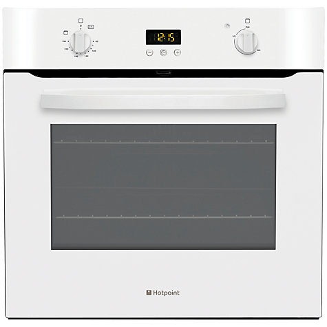 Buy Hotpoint SH33WS Single Electric Oven, White Online at johnlewis.com