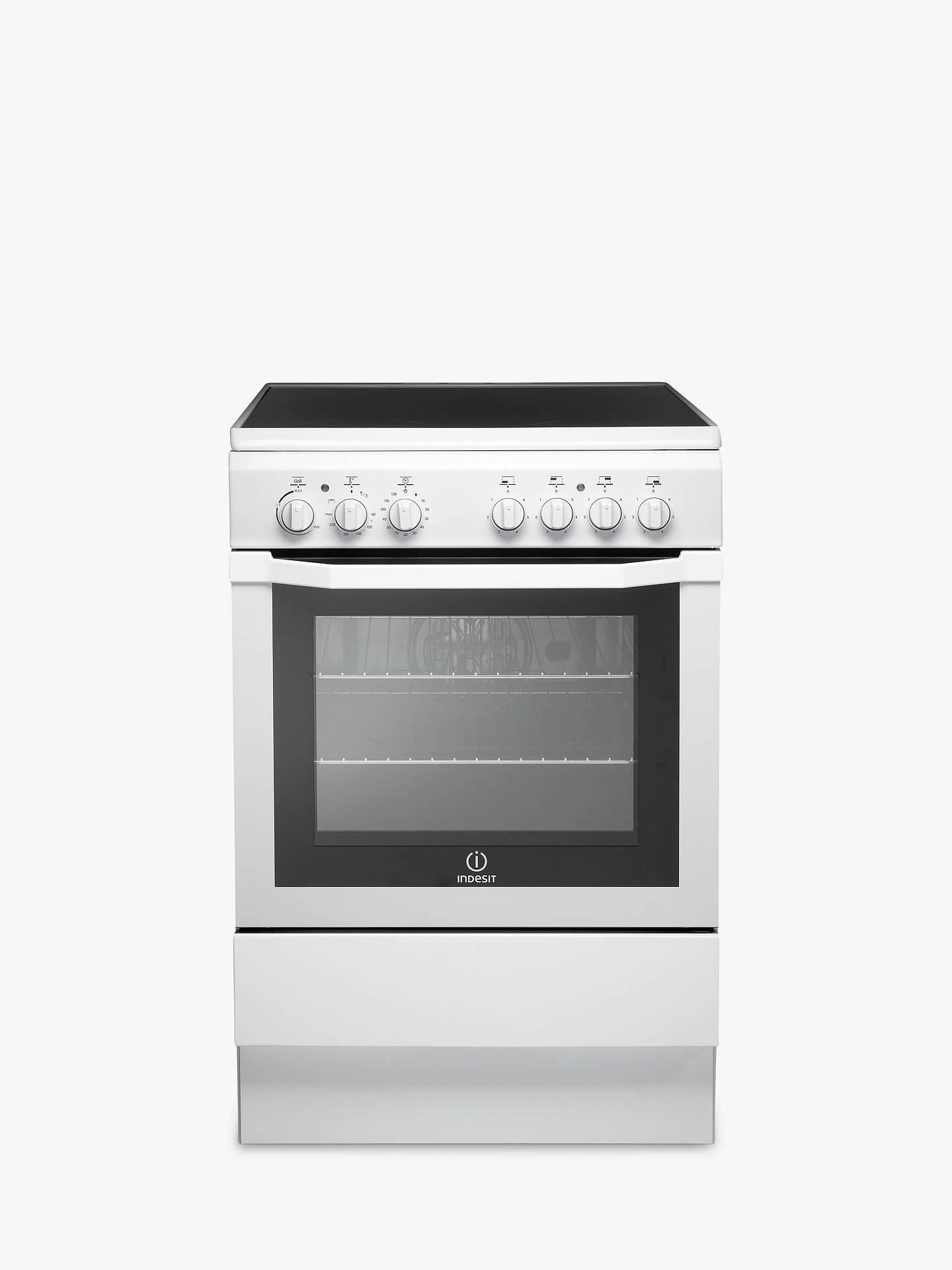 BuyIndesit I6VV2AW/UK Electric Cooker, White Online at johnlewis.com