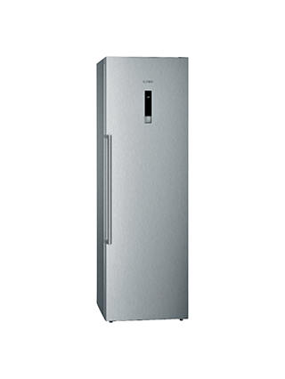 Buy Siemens GS36NBI30 Tall Freezer, A++ Energy Rating, 60cm Wide, Stainless Steel Online at johnlewis.com