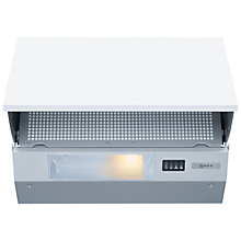 Buy Neff D2615X0GB Integrated Cooker Hood, Silver Online at johnlewis.com
