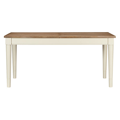 Buy John Lewis Drift 6-8 Seater Extending Dining Table, Cream Online at johnlewis.com