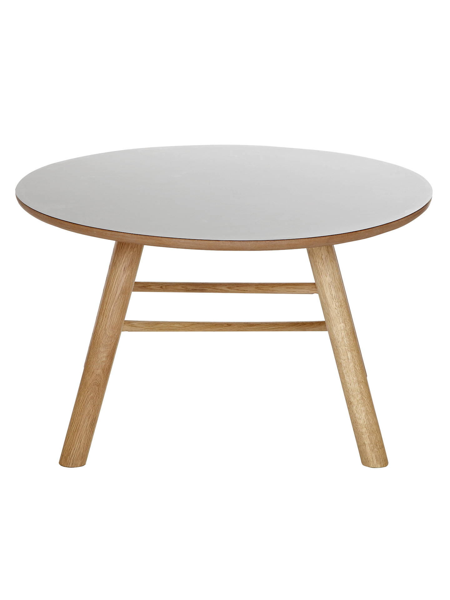 Buy Says Who for John Lewis Why Wood Coffee Table, Grey Online at johnlewis.com