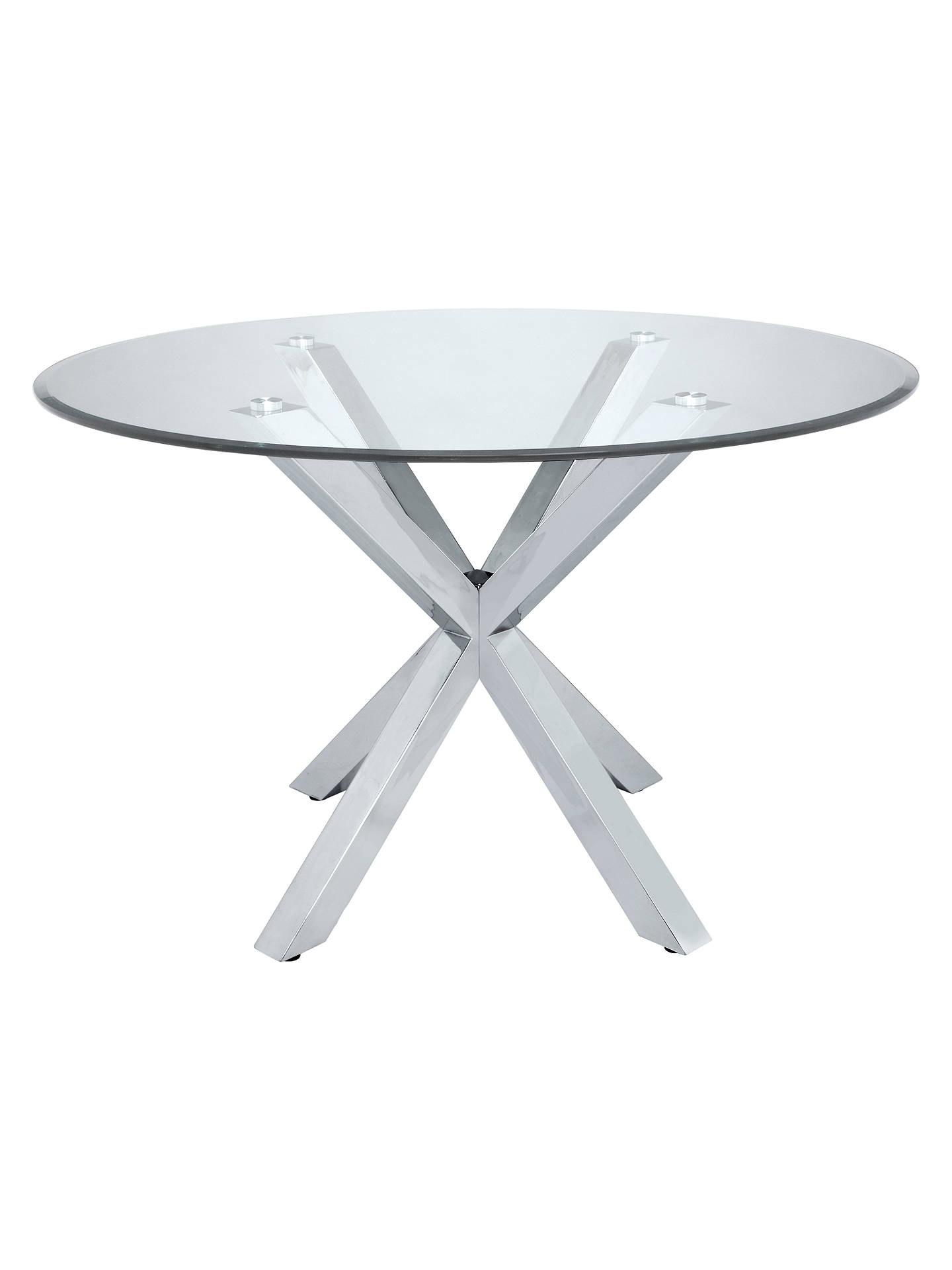 john lewis star 4 seater glass dining table at john lewis. Black Bedroom Furniture Sets. Home Design Ideas