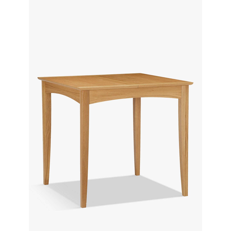 BuyJohn Lewis Alba 2 4 Seater Extending Dining Table, Oak Online At  Johnlewis.