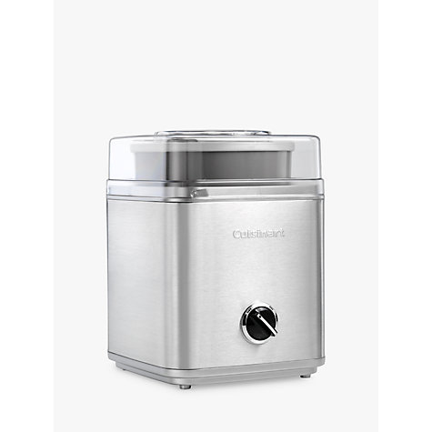 Buy Cuisinart ICE30BCU Ice Cream Maker, Silver Online at johnlewis.com