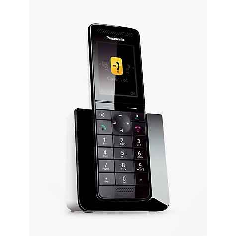 Buy Panasonic KX-PRS120 Premium Digital Telephone and Answering Machine, Single DECT Online at johnlewis.com