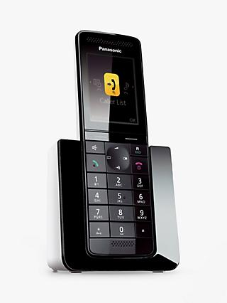 Panasonic KX-PRS120 Premium Digital Telephone and Answering Machine, Single DECT
