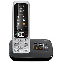 Buy Gigaset C430A Digital Cordless Telephone and Answer Machine, Single DECT Online at johnlewis.com