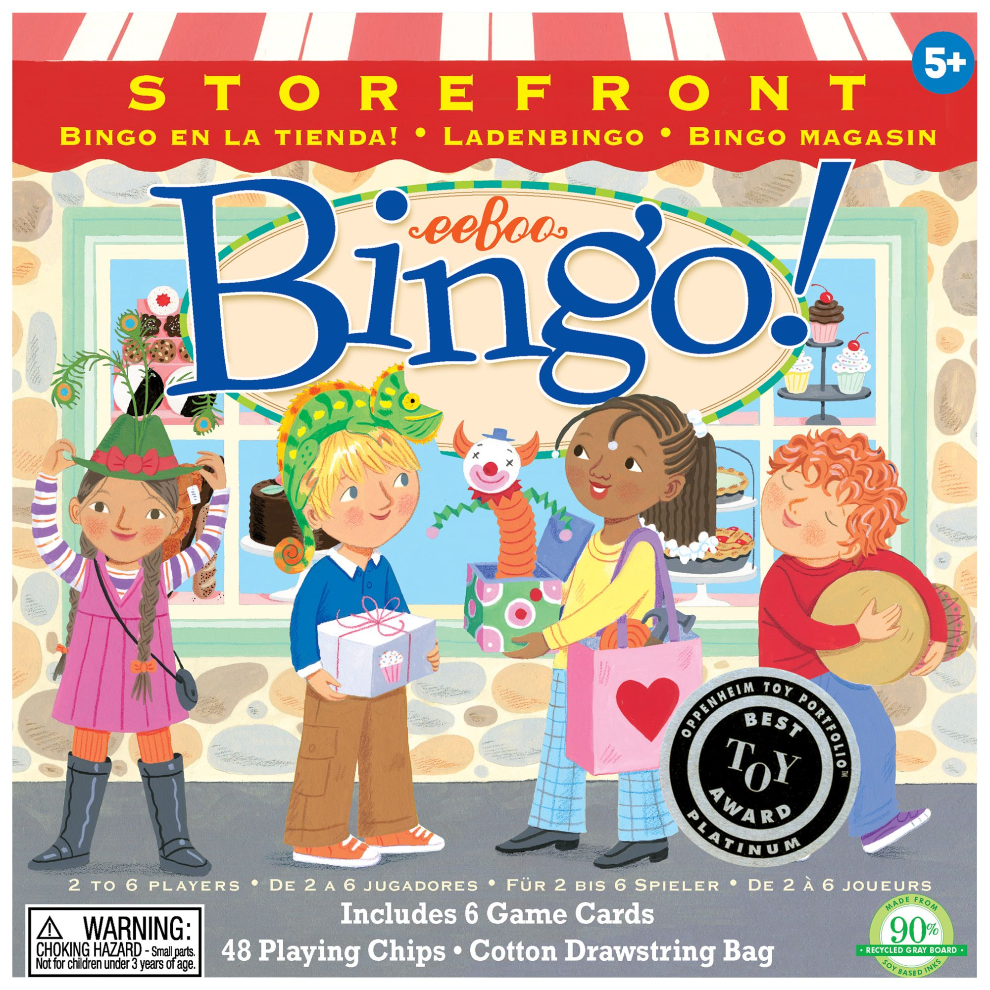 Eeboo eeBoo Storefront Bingo Game