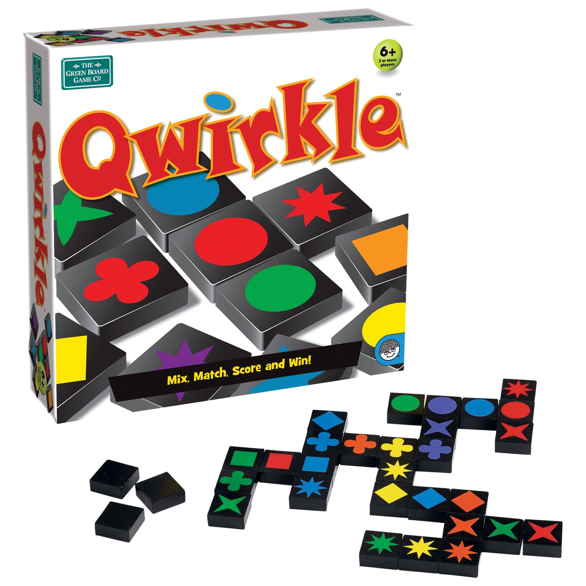 BrainBox Greenboard Qwirkle