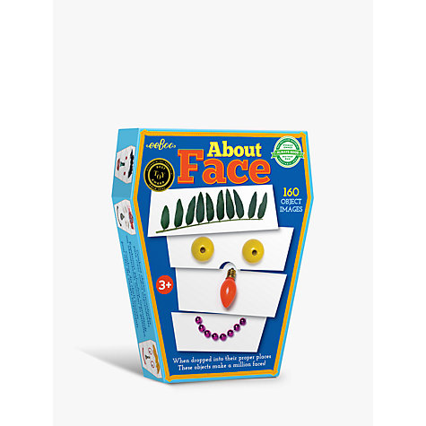 Buy Eeboo About Face Object Game Online at johnlewis.com
