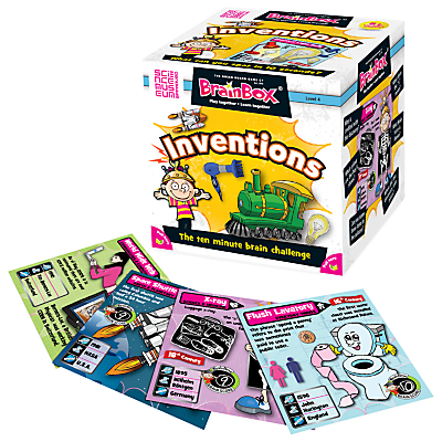 Image of BrainBox Inventions 10 Minute Challenge Game