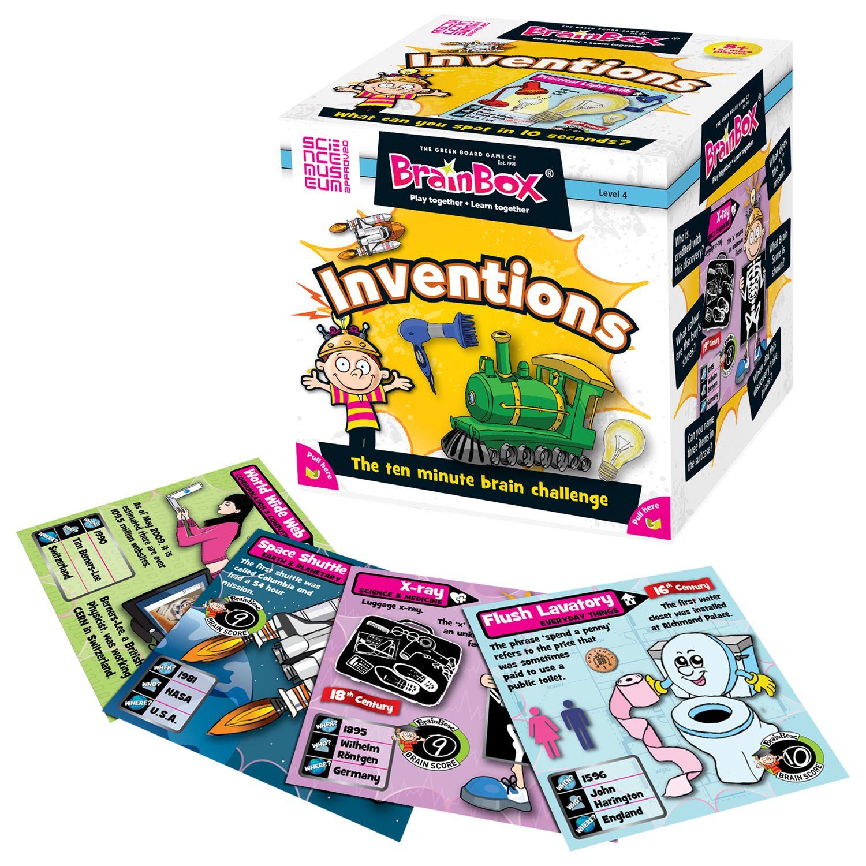 BrainBox BrainBox Inventions 10 Minute Challenge Game