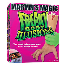 Buy Marvin's Magic Freaky Body Illusions Online at johnlewis.com