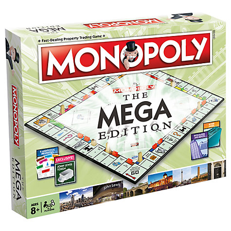 Buy Monopoly: The Mega Edition Online at johnlewis.com