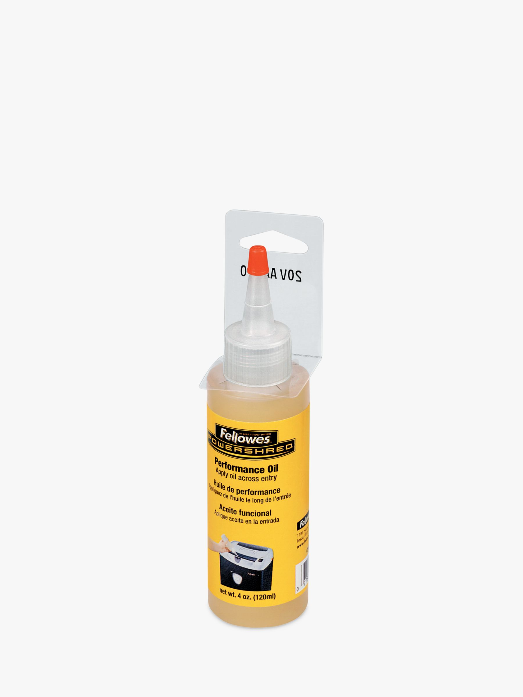 Fellowes Fellowes Shredder Oil, 120ml