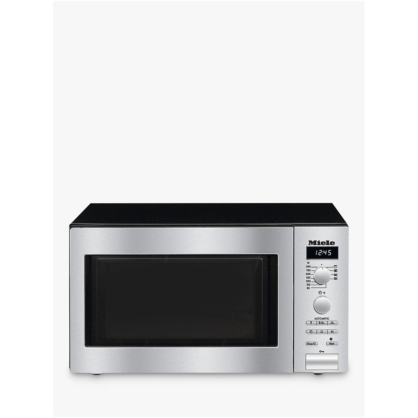 Miele M6012 Contourline Microwave With Grill Stainless Steel Online At Johnlewis