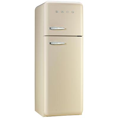 Smeg FAB30RFC Fridge Freezer A Energy Rating 60cm Wide RightHand Hinge Cream
