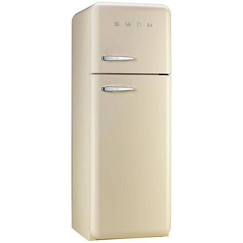 buy smeg fab30rfc fridge freezer a energy rating 60cm wide right hand hinge cream john lewis. Black Bedroom Furniture Sets. Home Design Ideas
