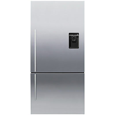 Fisher & Paykel E522BRXFDU4 Fridge Freezer, A+ Energy Rating, 80cm Wide, Stainless Steel