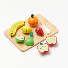 Buy John Lewis Wooden Fruit Set Online at johnlewis.com