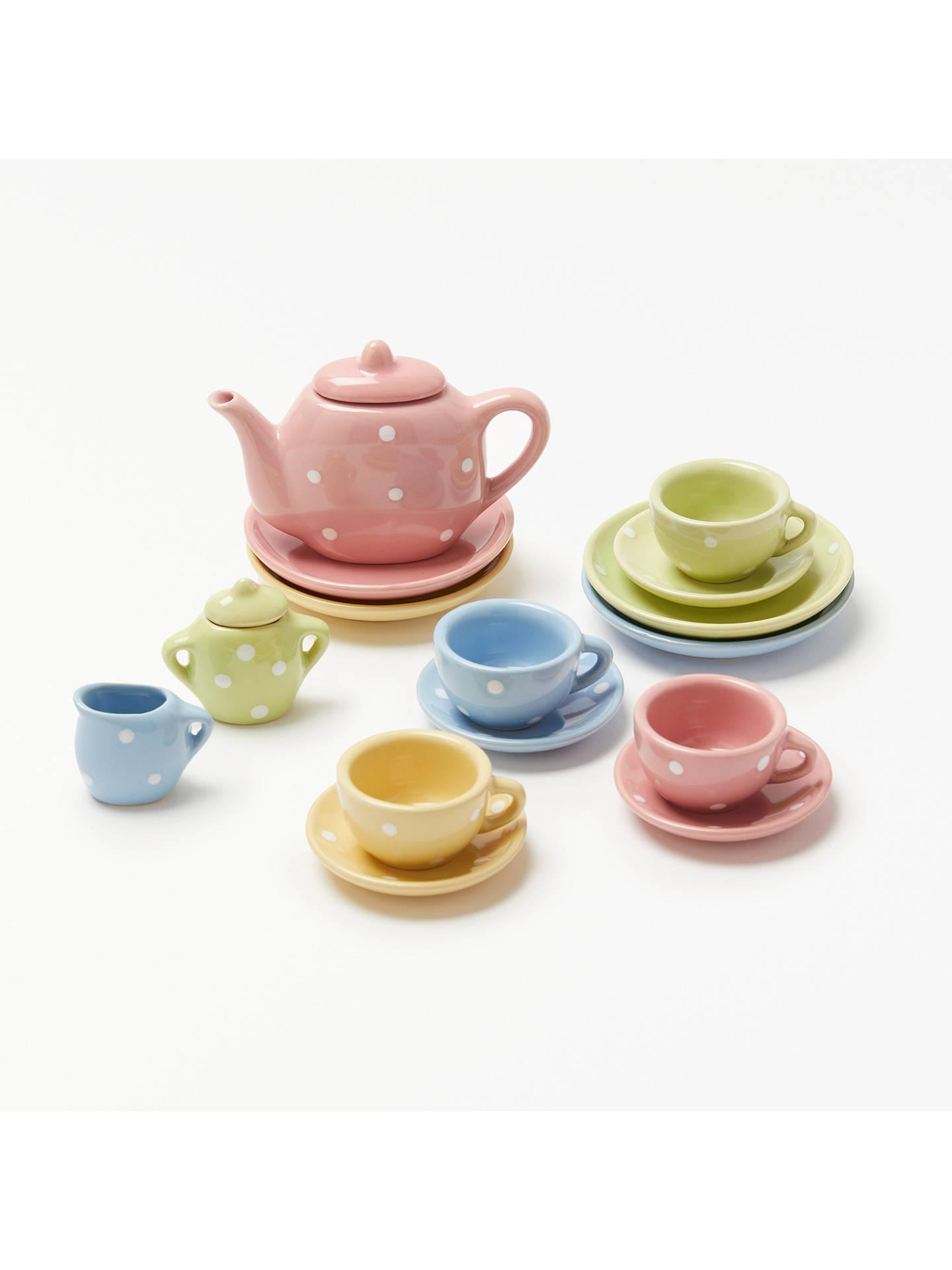 BuyJohn Lewis & Partners 17 Piece Toy Tea Set Online at johnlewis. ...