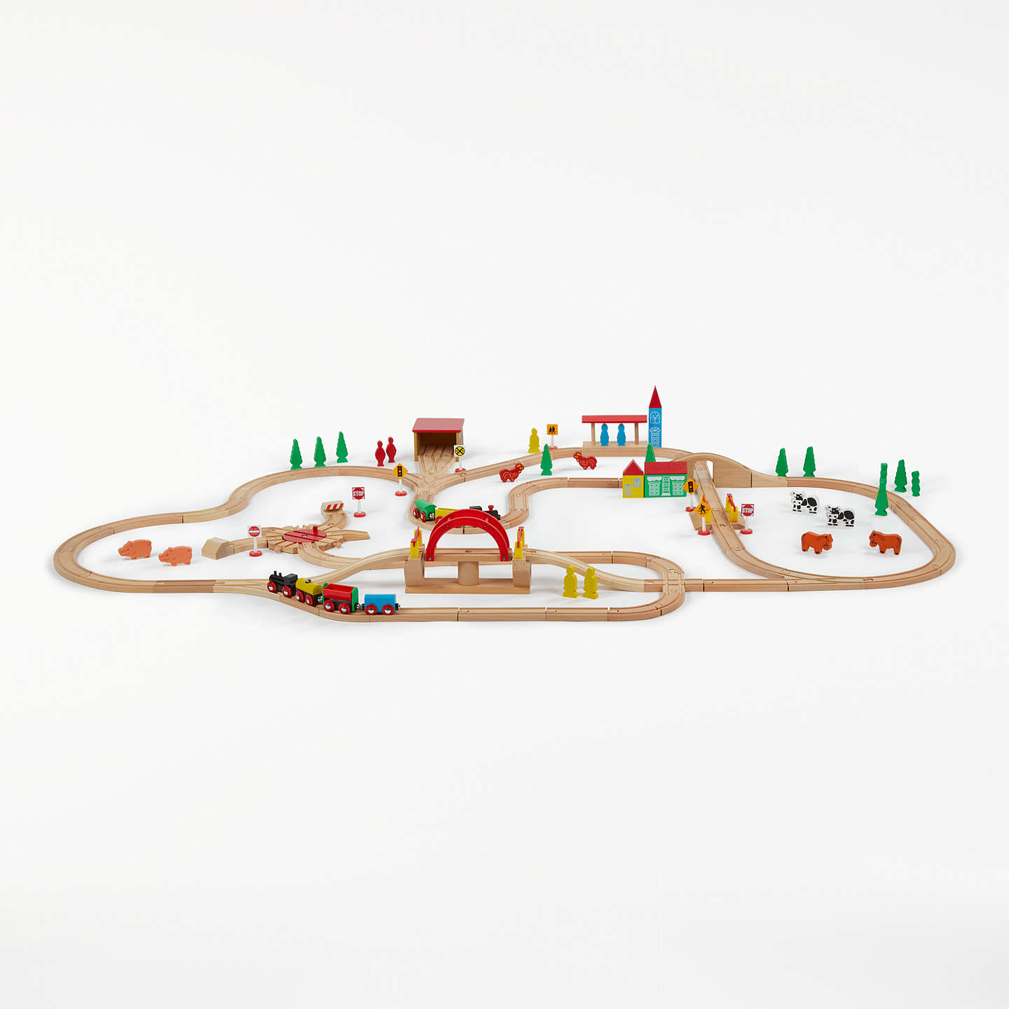 BuyJohn Lewis 120 Piece Train Set Online at johnlewis.com