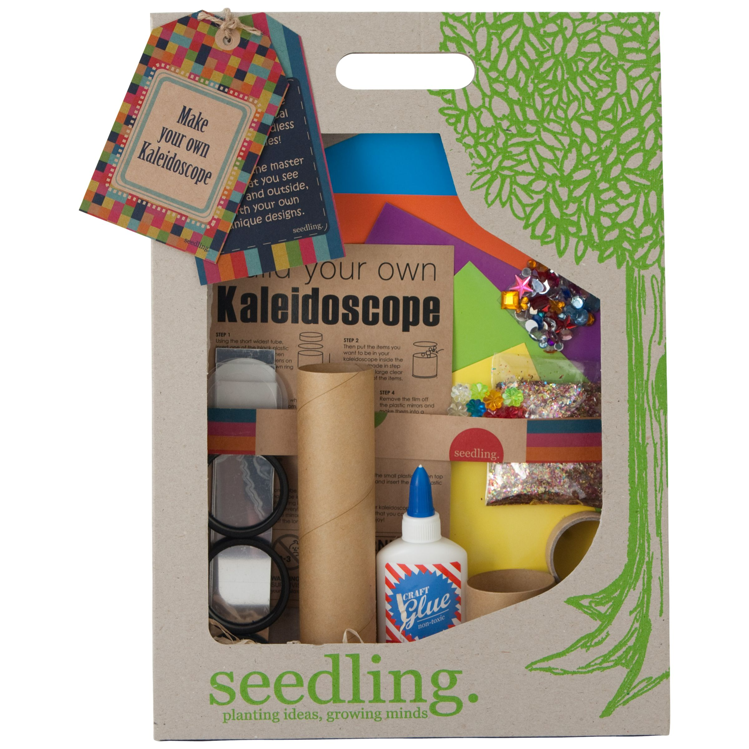 Seedling Make Your Own Kaleidoscope Kit At John Lewis Partners