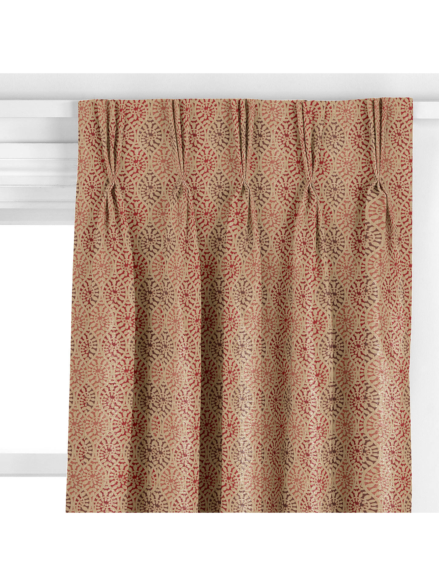 John Lewis Amp Partners Valera Leaf Made To Measure Curtains