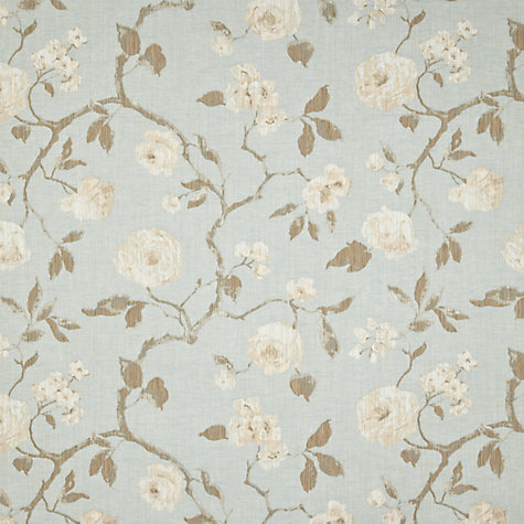 Buy John Lewis Linen Rose Curtain Duck Egg John Lewis