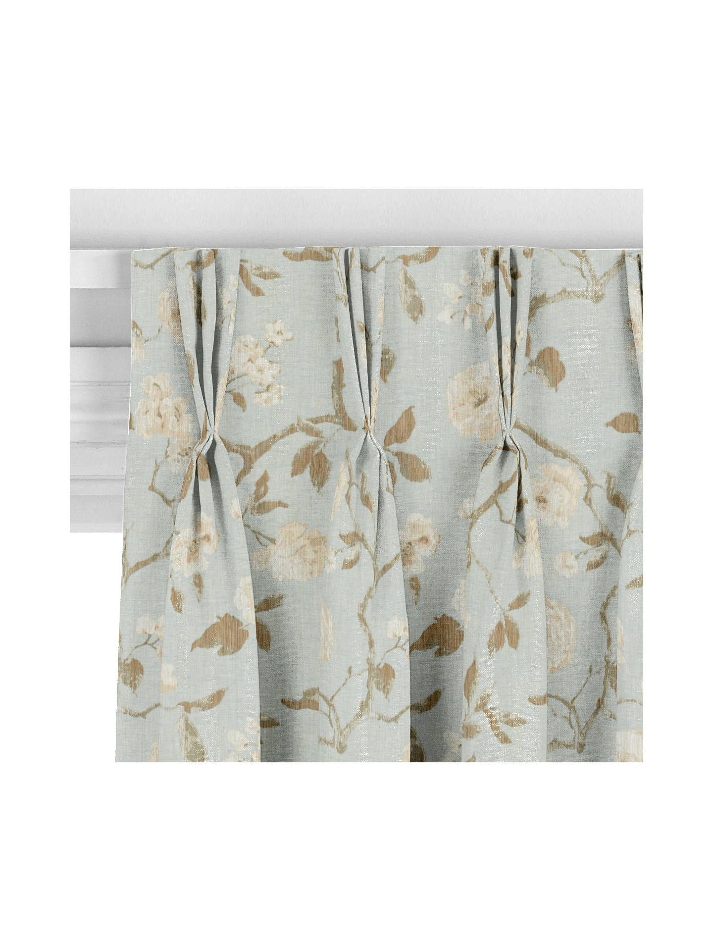 John Lewis Amp Partners Linen Rose Made To Measure Curtains