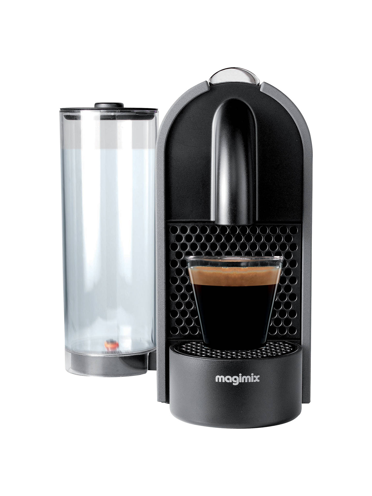 nespresso u coffee machine by magimix matt grey at john. Black Bedroom Furniture Sets. Home Design Ideas