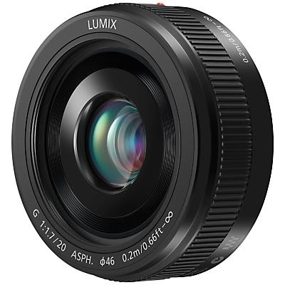 Panasonic H-H020A LUMIX G 20mm f/1.7 II ASPH Standard Lens