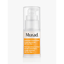 Buy Murad Essential-C Eye Cream SPF15, 15ml Online at johnlewis.com