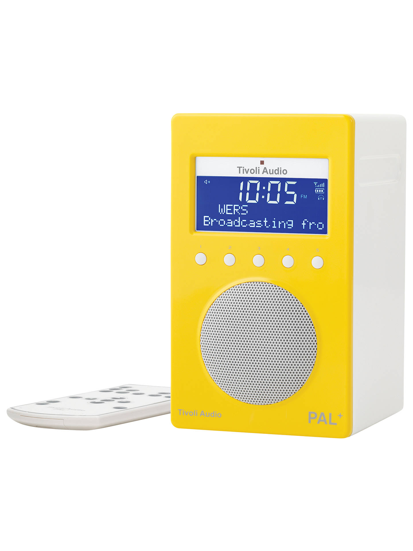 Buy Tivoli Audio PAL+ DAB/FM Portable Radio, Yellow Online at johnlewis.com