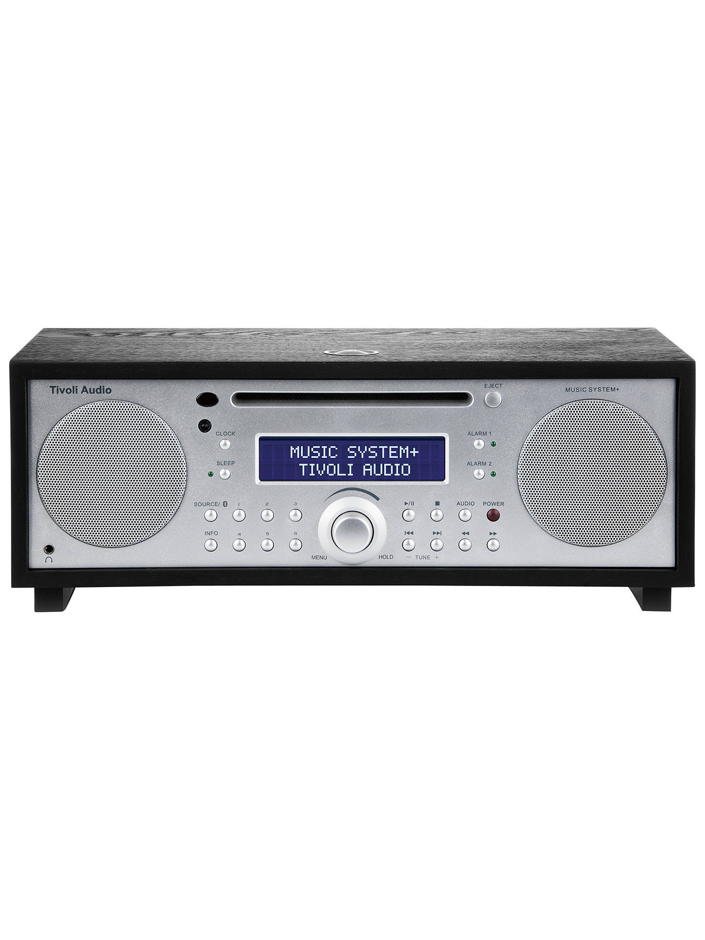 Buy Tivoli Audio Music System+ DAB/FM/CD Bluetooth Micro System, Black Ash Online at johnlewis.com