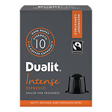 Buy Dualit Intense Espresso NX Capsules, Nespresso Compatible Online at johnlewis.com