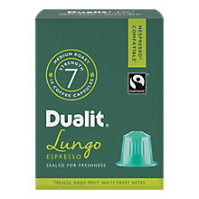 Buy Dualit Lungo Americano NX Capsules, Nespresso Compatible Online at johnlewis.com