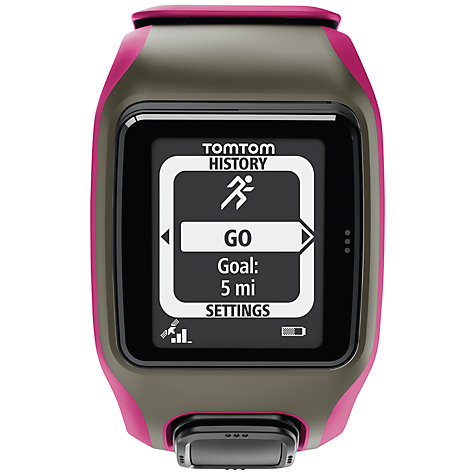 Buy TomTom Multi-Sport GPS Watch, Pink Online at johnlewis.com
