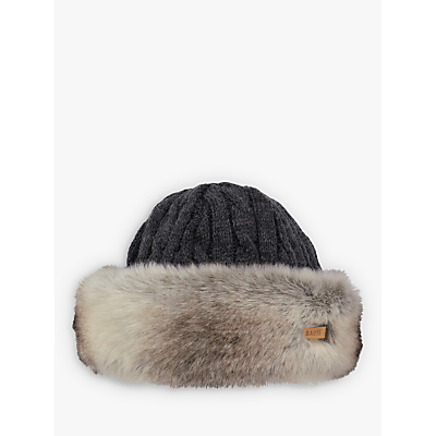 Barts Faux Fur Cable Bandhat, One Size
