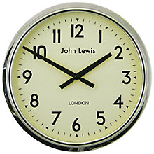 Buy Lascelles Personalised Case Clock, Dia.37cm Online at johnlewis.com