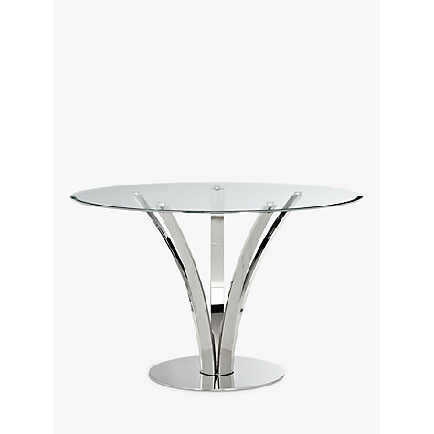 Buy John Lewis Moritz Glass Top Dining Table Online At Johnlewis