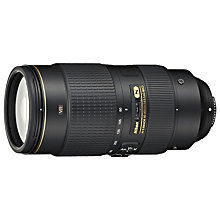 Buy Nikon FX 80-400mm f/4.5-5.6G ED VR AF-S Telephoto Lens Online at johnlewis.com