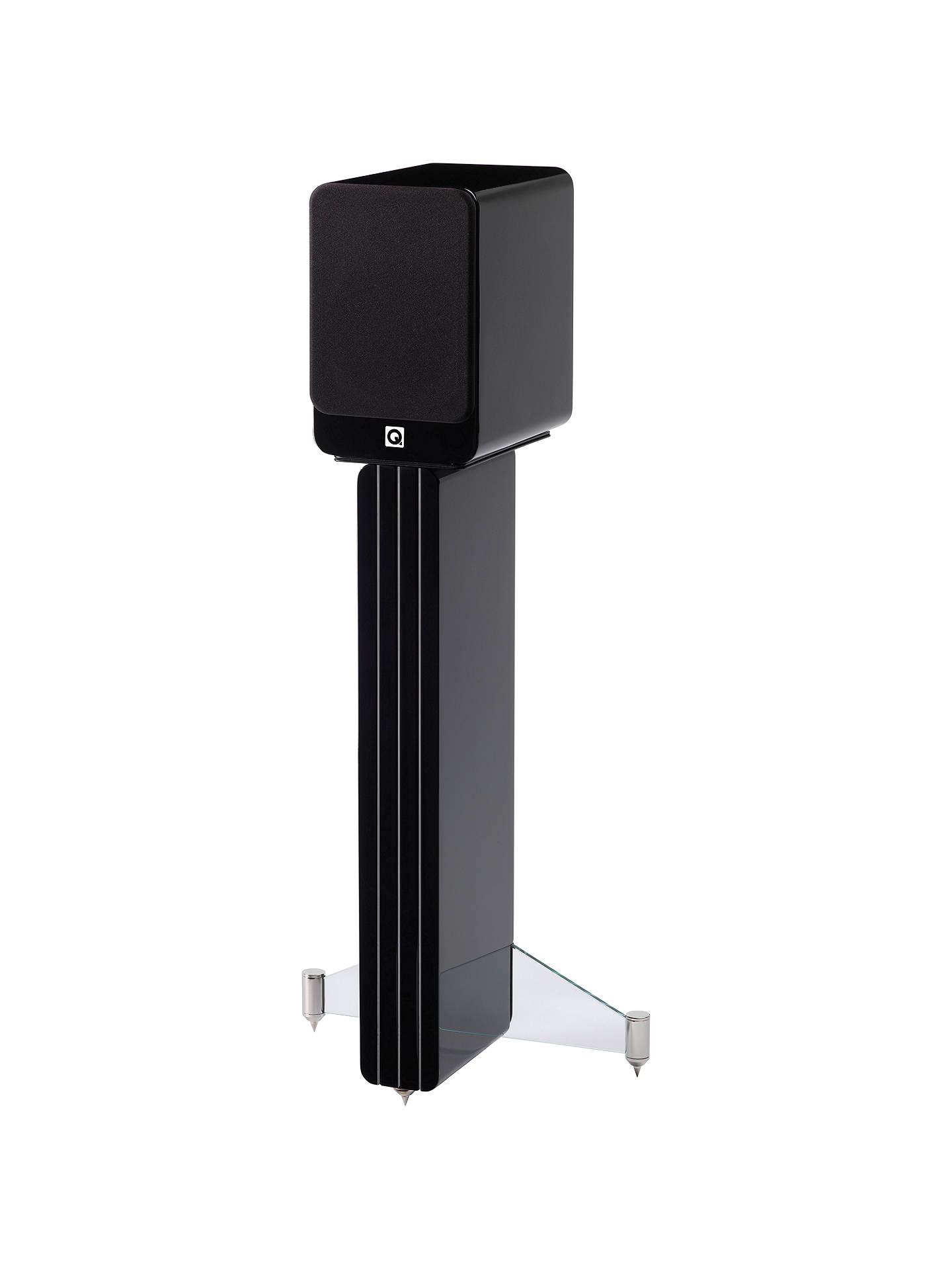 BuyQ Acoustics Concept 20 Speaker Stand, Black Online at johnlewis.com