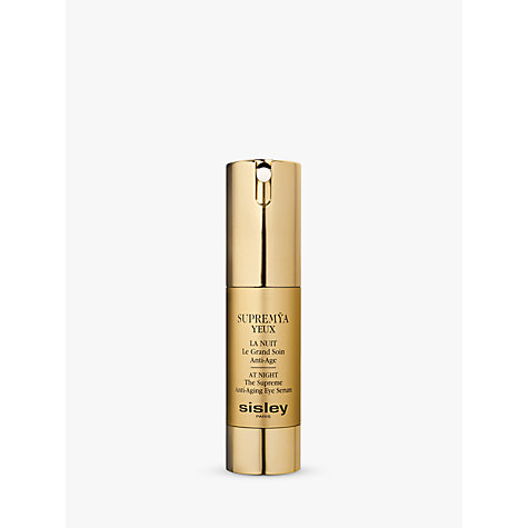 Buy Sisley Supremÿa Eyes At Night, 15ml Online at johnlewis.com