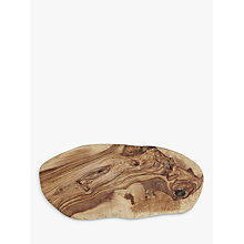 Buy ICTC Olivewood Cheese Board, L30cm Online at johnlewis.com