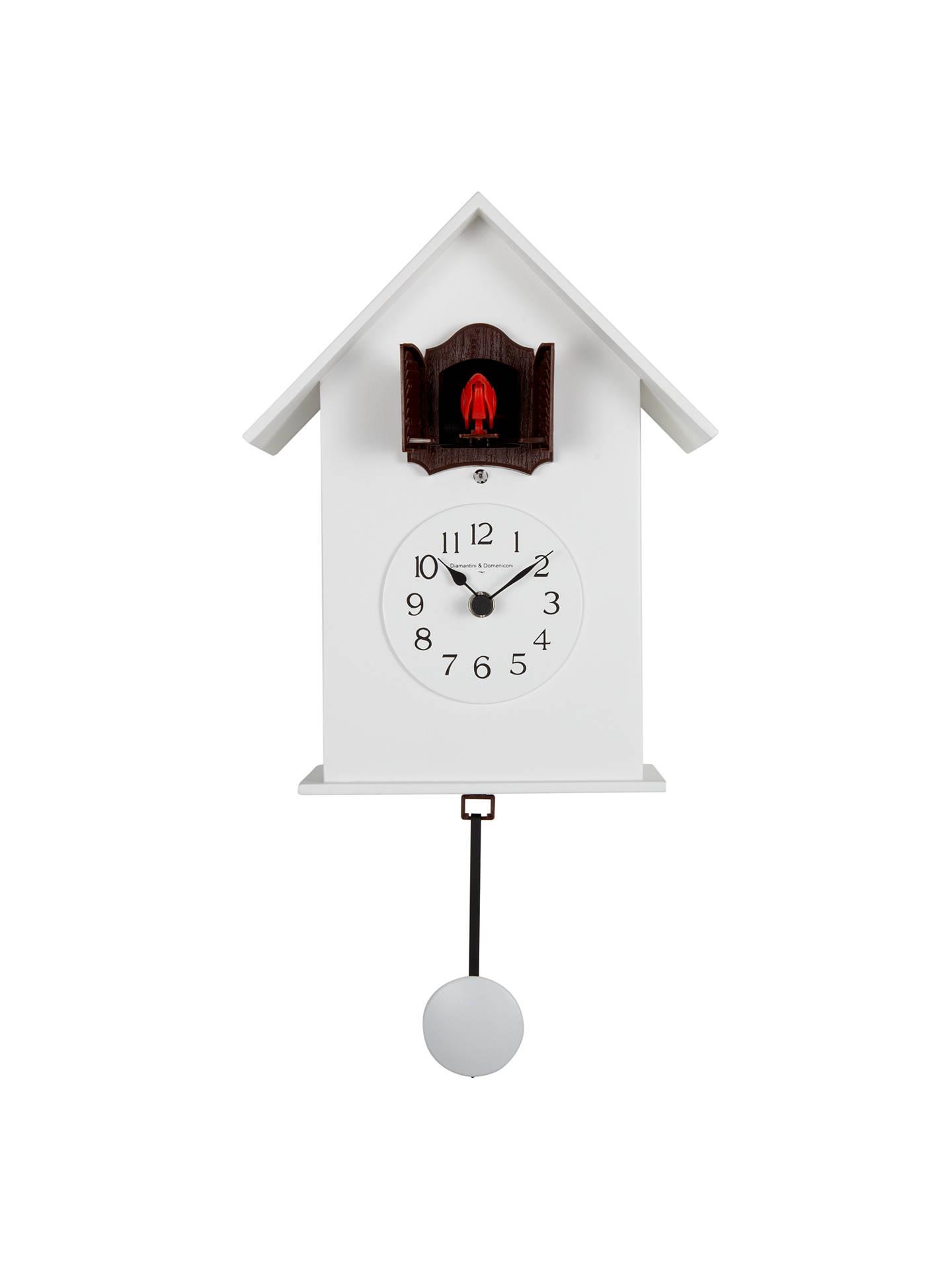 Diamantini Domeniconi Meridiana Cucu Wall Clock White Dia 18cm Online At